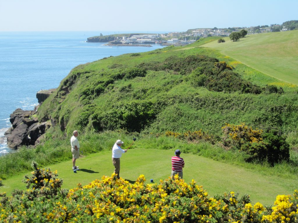 golf dunmore east